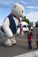 Медведь Ursa  в городе!