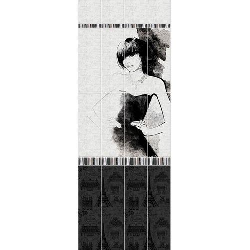 """01710 Дизайн-панели PANDA """"Париж"""" Панно 4шт(8,1м2=12шт) Узор"""