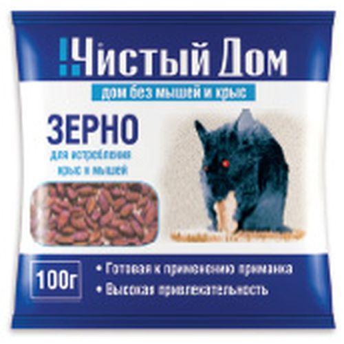 03-016 Зерновая приманка от крыс и мышей (пак.100гр)