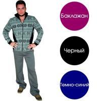 """Брюки """"Утепленные"""" черные р.52"""