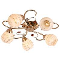 ESCADA Потолочный светильник Escada 009/5PL E27*60W Gold