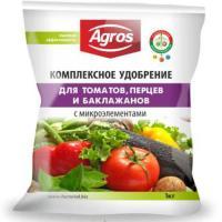 Комплексное удобрение для томатов,перцев и баклажанов с микроэлементами (1кг)
