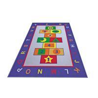 Коврик CONFETTI KIDS из 1 шт 100х150см RUGS GAME (голубой)