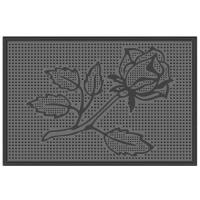 "Коврик резиновый ""Роза"" (400х600 мм) черный тип. КА 14-1 РТИ"