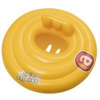 Круг для плавания с сиденьем и спинкой трехкамерный Swim Safe, ступень A, 69см, Bestway 32096 арт.00