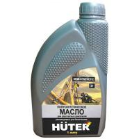 Масло полусинтетическое для двухтактных двигателей Huter,1л