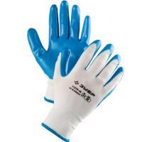 """Перчатки ЗУБР """"МАСТЕР"""" маслостойкие для точных работ, с нитриловым покрытием, XL (10) 11276-XL"""
