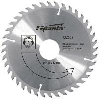Пильный диск по дереву, 125х22мм, 36 зубьев // SPARTA (732395)
