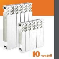 RU-RA Радиатор алюминиевый RADENA 500/100 10 секций
