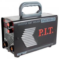 Сварочный инвертор PMI300-D IGBT  P.I.T.(300 А,ПВ-60,1,6-5 мм,от пониженного 170,гор.старт,дисплей)