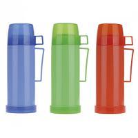 Термос 450мл пластиковый со стеклянной колбой (1 чашка;) (2070)