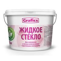 Жидкое стекло 1,5кг.  GRAFICS